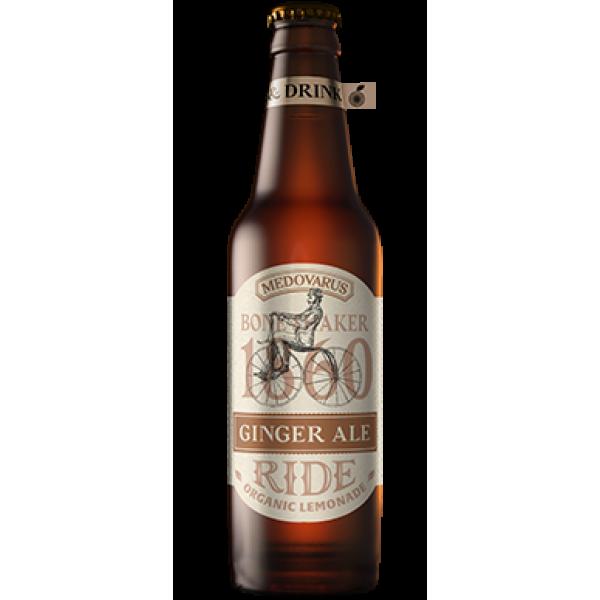 Биолимонад RIDE Ginger ale «Имбирный эль» 0,5 л
